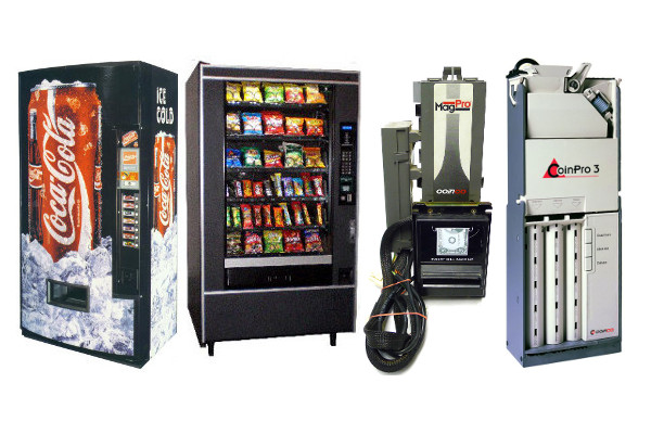 Vending Machines & Parts Sales